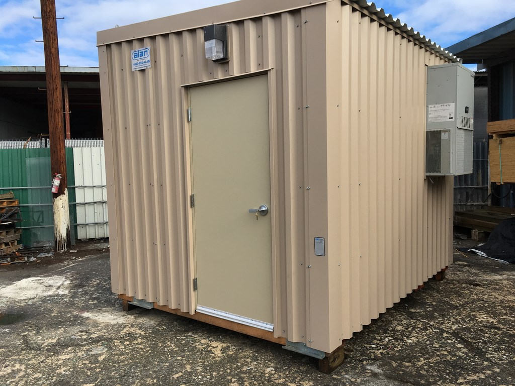 steel frame control room prefabricated