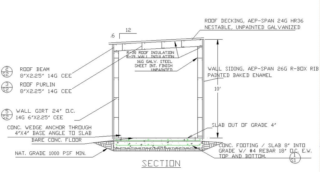 Mini Steel Building Section Detail Jpg