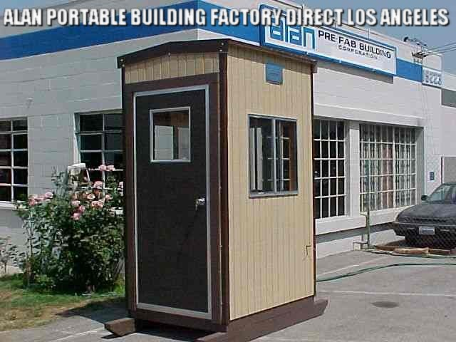 guard shack, guard booth, guard house, security shack, parking booth, valet booth, sentry booth, rental, lease, code conforming, ADA, los angeles, california