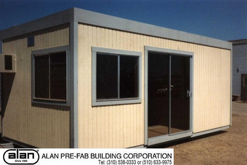small portable office. Skid Mounted Office With Glass Sliding Door Small Portable D