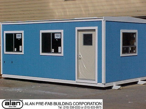 portable office modular building skid mounted building prefab